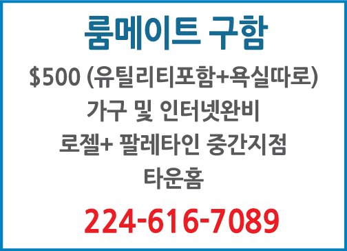 룸메이트구함 -7089