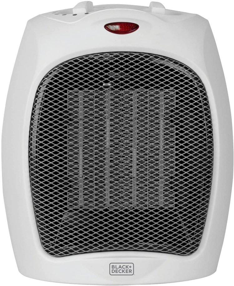 블랙앤데커 데스크탑 히터 59% 할인  $12.47