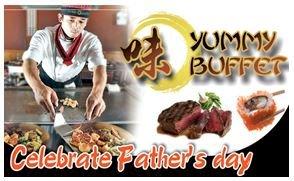 야미뷔페 Yummy Buffet Celebrate Father's Day