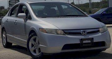 2007 Honda Civic Sdn FWD 4dr Car