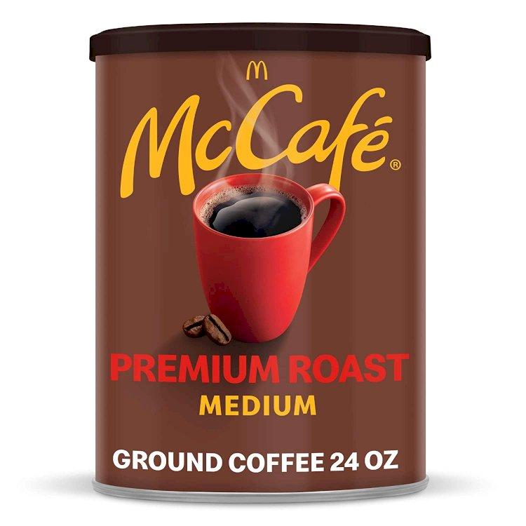 Amazon) 24-oz McCafé Premium Roast Ground Coffee (Medium Roast)-$5.95