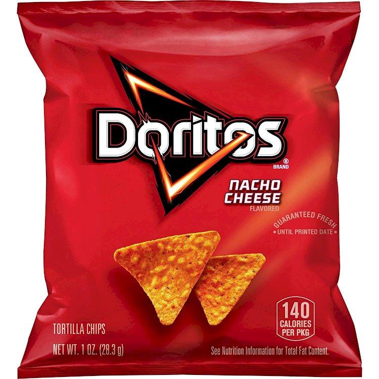 Amazon) 40-Pack 1oz. Doritos Nacho Cheese Tortilla Chips $11.98